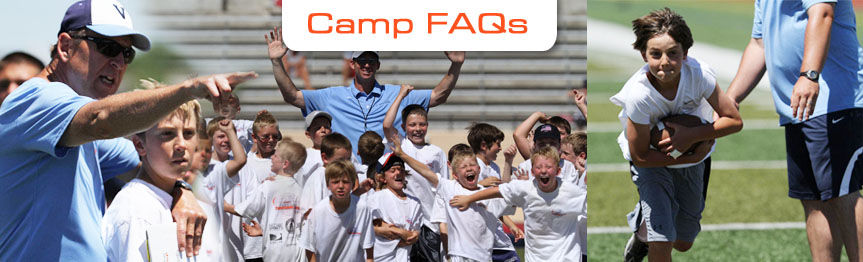 Ed McCaffrey Football Camp FAQs