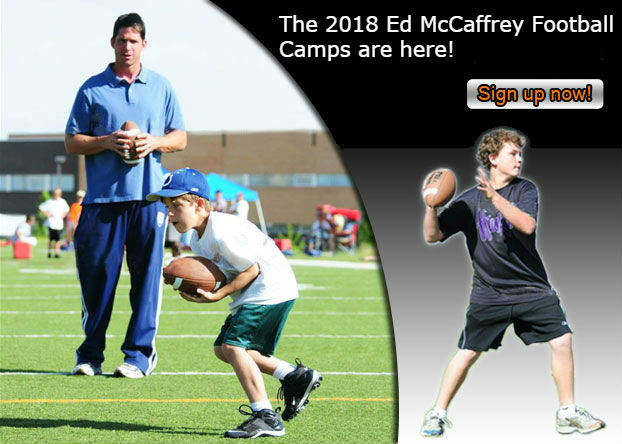 ed mccaffrey football camp main